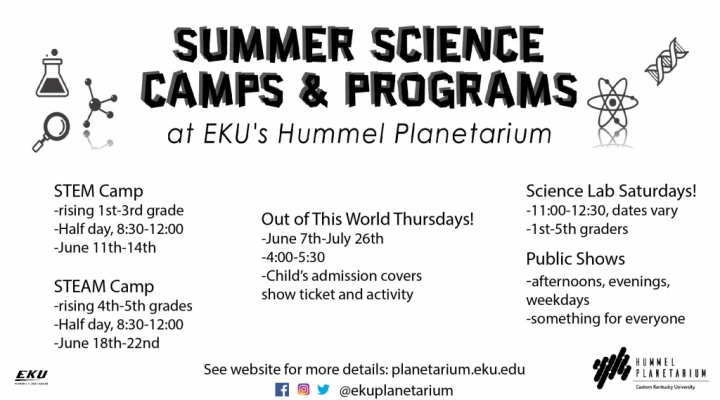 Summer Science Camps and Programs
