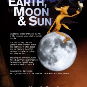 Picture Ad for Earth, Moon & Sun
